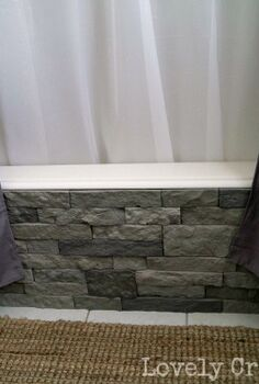 update your boring builder bathtub with airstone