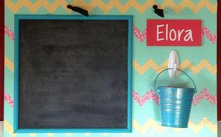 magnetic chalkboard girl s chore chart, chalkboard paint, crafts