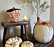 fall decorating ideas, crafts, gardening, seasonal holiday decor, adding a little bit of Fall