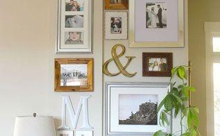 gallery wall tutorial, home decor, wall decor