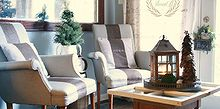 painted upholstered chairs, painted furniture, Better colors for our home and style
