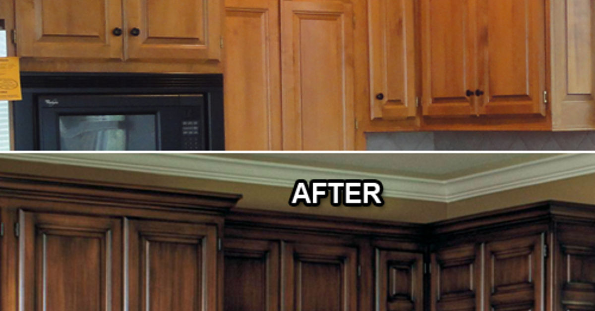 Does Anyone Know Of A Faux Glaze For Kitchen Cabinets