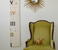 roman numeral height chart, crafts, home decor, Roman numeral height chart