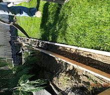 diy concrete landscape edging, concrete masonry, outdoor living