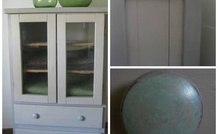 solid pine storage cabinet, painted furniture, storage ideas