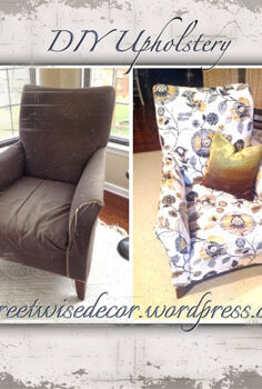 diy reupholstery sneak peek, reupholster