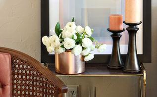 diy floral arrangements, home decor, living room ideas