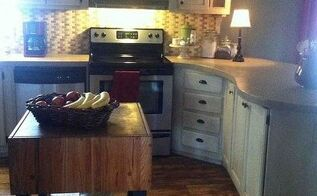 my redo of our manufactured home, home decor, kitchen design