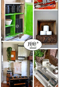 140 ways to organize your bad junk inside good junk, home decor, living room ideas, organizing, repurposing upcycling, storage ideas, This post is part of a blogger s link party