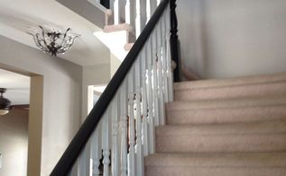 the long time coming staircase banister revival, diy, stairs, woodworking projects