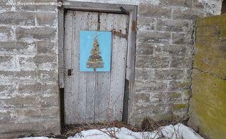 driftwood christmas tree beach themed christmas diy tutorial, crafts, seasonal holiday decor