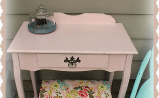 come see the transformation of this garage sale vanity into a vintage beauty, garages, painted furniture, vintage vanity