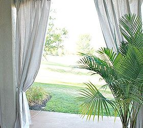 outdoor curtains inexpensive outdoor curtains curtain rods out of plumbing pieces home decor repurposing - Outdoor Curtain Rods