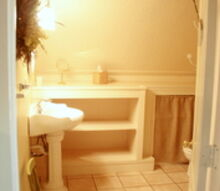 guest cottage tour, bathroom ideas, home improvement, Guest Cottage Bath