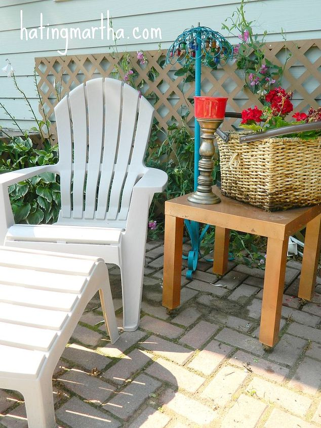 Patio Furniture Refinishing Brickyard Road Shako Mn And Bright Brick Hometalk