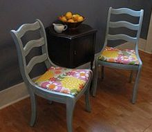 painted drop cloth upholstery, painted furniture