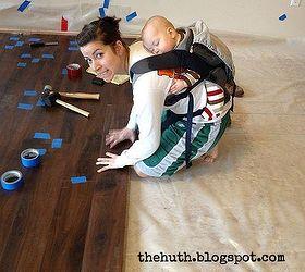 Laminate Floor Installation, Diy, Flooring, How To, Living Room Ideas, Shout