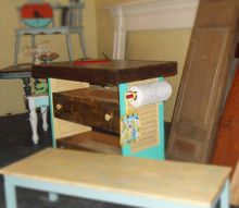 shutter islands all done, diy, how to, painted furniture, repurposing upcycling, woodworking projects