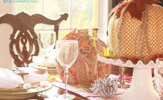 transform those pumpkins, crafts, They are the center piece at my Fall tablescape