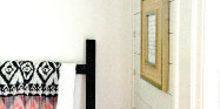 hallway makeover, foyer, home decor, wall decor