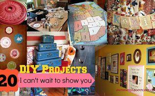 25 projects i can t wait to show you, crafts, repurposing upcycling
