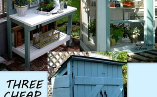 3 cheap easy diys for spring, diy, outdoor living, woodworking projects