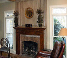 best of both worlds a mantel makeover, fireplaces mantels, home decor, living room ideas