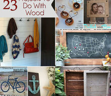 23 projects to do with wood, crafts, repurposing upcycling, woodworking projects
