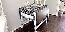 i finally finished making over a side of the road table it was my first time using, chalk paint, painted furniture, Refinished country table