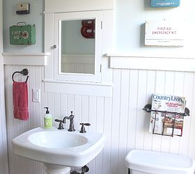 Awesome Bathroom Drawer Base Cabinets Huge Ugly Bathroom Tile Cover Up Flat Bathroom Addition Ideas Venting Bathroom Exhaust Fan Through Gable Vent Young Wall Mounted Magnifying Bathroom Mirror With Lighted PurpleWestern Bathrooms Historic Farmhouse Bathroom Renovation | Hometalk