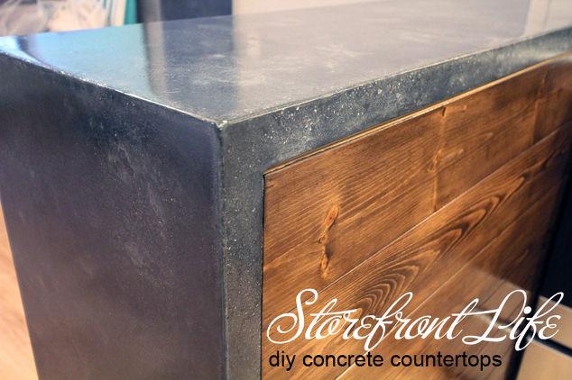 Diy Concrete Counters Hometalk