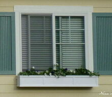 window box, curb appeal, flowers, gardening, windows, window box