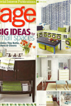 we ve been featured, home decor, painting, CuttingEdgeStencils was featured in Storage Magazine