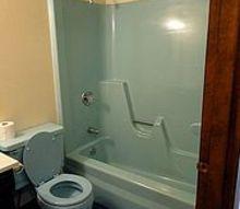 bathtub options, bathroom ideas, Dated bathtub