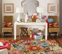 braving bold florals, home decor
