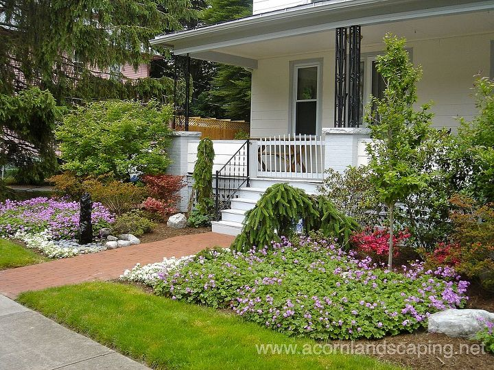 front yard landscape designs ideas landscape porches front yard landscape designs ideas monroe - Landscape Design Ideas For Front Yards