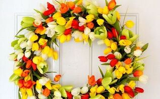 How To Make A Tulip Wreath Hometalk