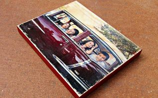 how to transfer a photo to wood, crafts, woodworking projects, Transfer a photo to wood in 5 steps