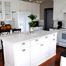my kitchen remodel, home decor, home improvement, kitchen design, kitchen island, The new island with Silestone counter top that looks like marble