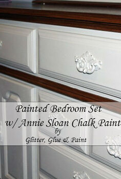 painted furniture, bedroom ideas, chalk paint, painted furniture, Painted bedroom set with Annie Sloan Chalk Paint
