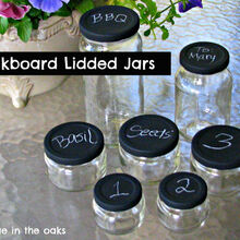 best posts of 2012, Chalkboard Lidded Jars