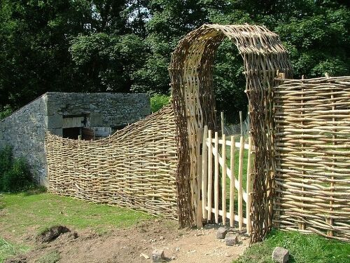 Can I Use The Existing Wire Fence To Add Privacy Wood Or