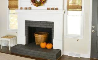 fireplace makeover, concrete masonry, fireplaces mantels, hvac