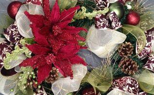 christmas wreaths part 2, crafts, seasonal holiday decor, wreaths, Classic