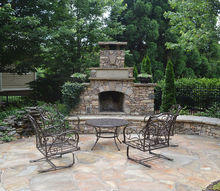 outdoor fireplace and patio, decks, fireplaces mantels, outdoor living