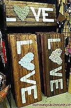 inspiration amp embarrassing moments amp the canton flea market, electrical, Pallet Art Work w Fabric Rosette s