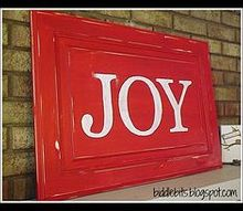 how to upcycle a cabinet door into rustic holiday decor, doors, repurposing upcycling, The finished product