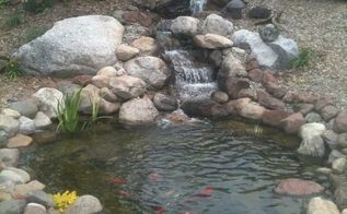 before amp after pictures of a complete water feature renovation, ponds water features, After