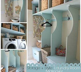 Organized Cottage Style Laundry Room and Mudroom Renovation Hometalk