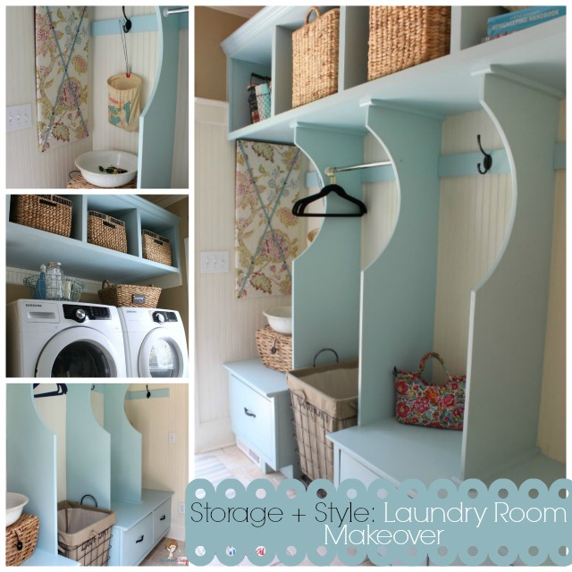 Organized Cottage Style Laundry Room And Mudroom Renovation Closet Home Decor Laundry Rooms